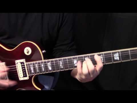How To Play Walk This Way By Aerosmith 1st Guitar Solo Lesson