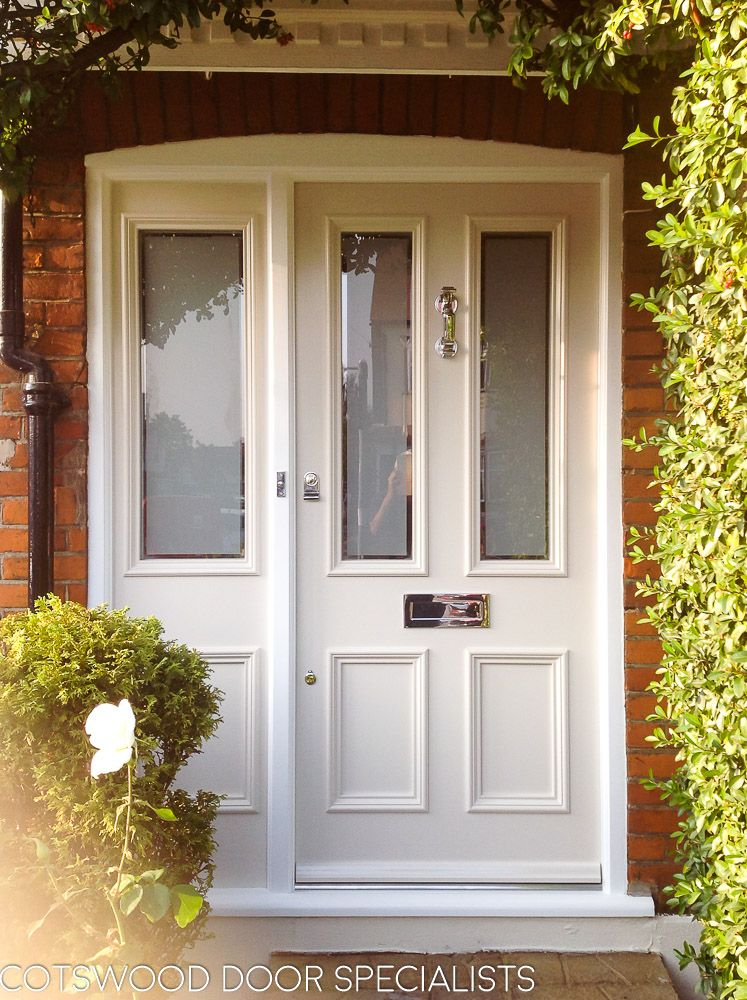 Etched Glass Victorian Door And Frame Victorian Front Doors Double Glazed Front Doors Front Doors With Windows