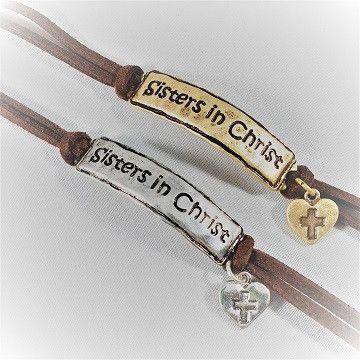 Sisters in Christ Bracelet