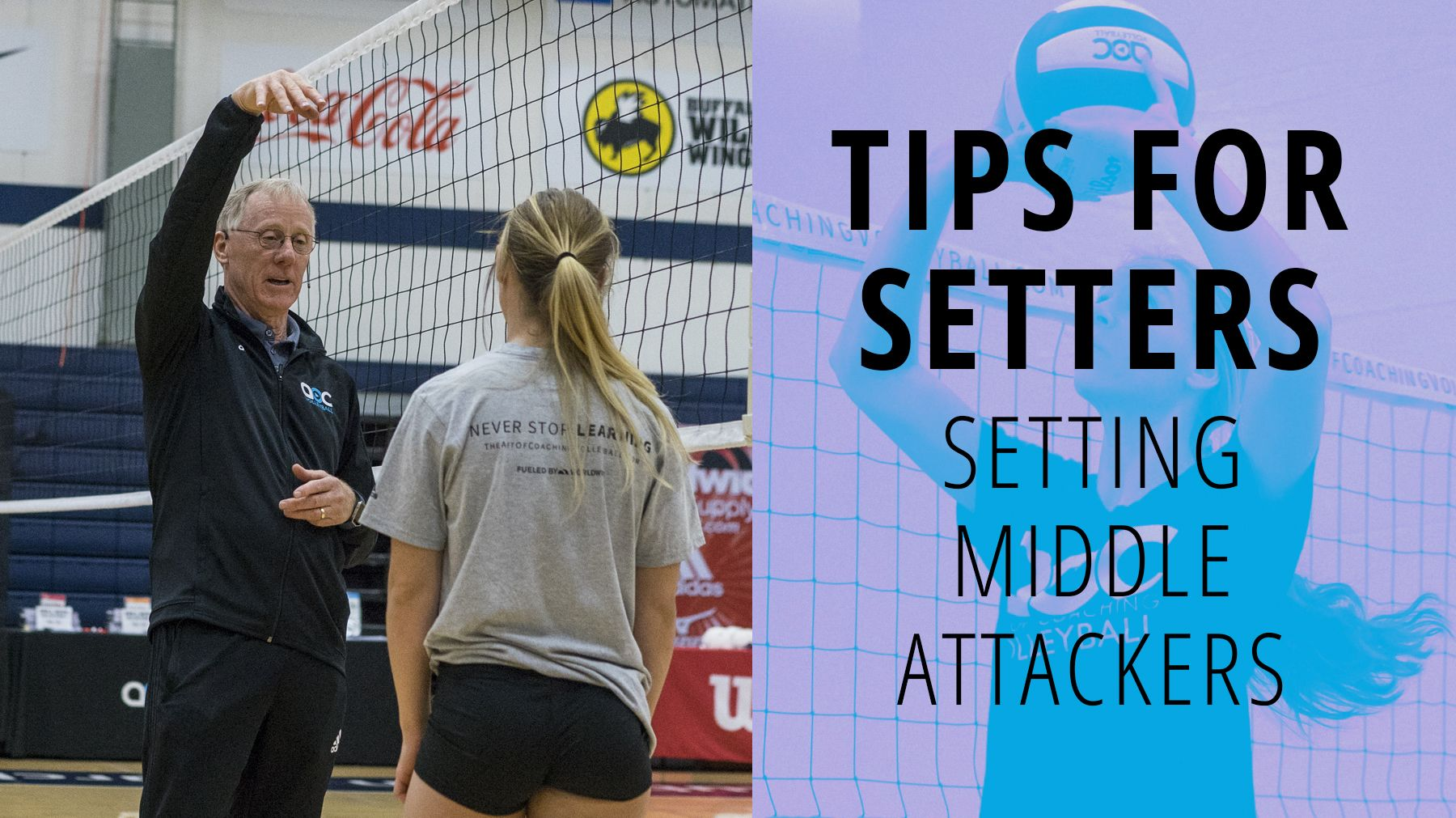 Tips For Setters Setting Middle Attackers The Art Of Coaching Volleyball Coaching Volleyball Tips Volleyball Tips