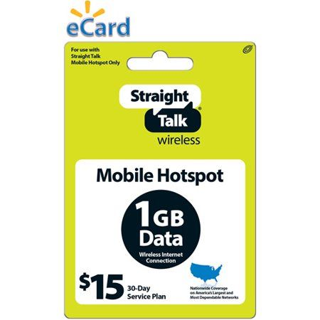 Straight Talk Broadband 1GB $15 (Email Delivery) | Products in 2019