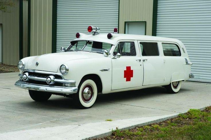 1951 Ford Ambulance By Siebert.