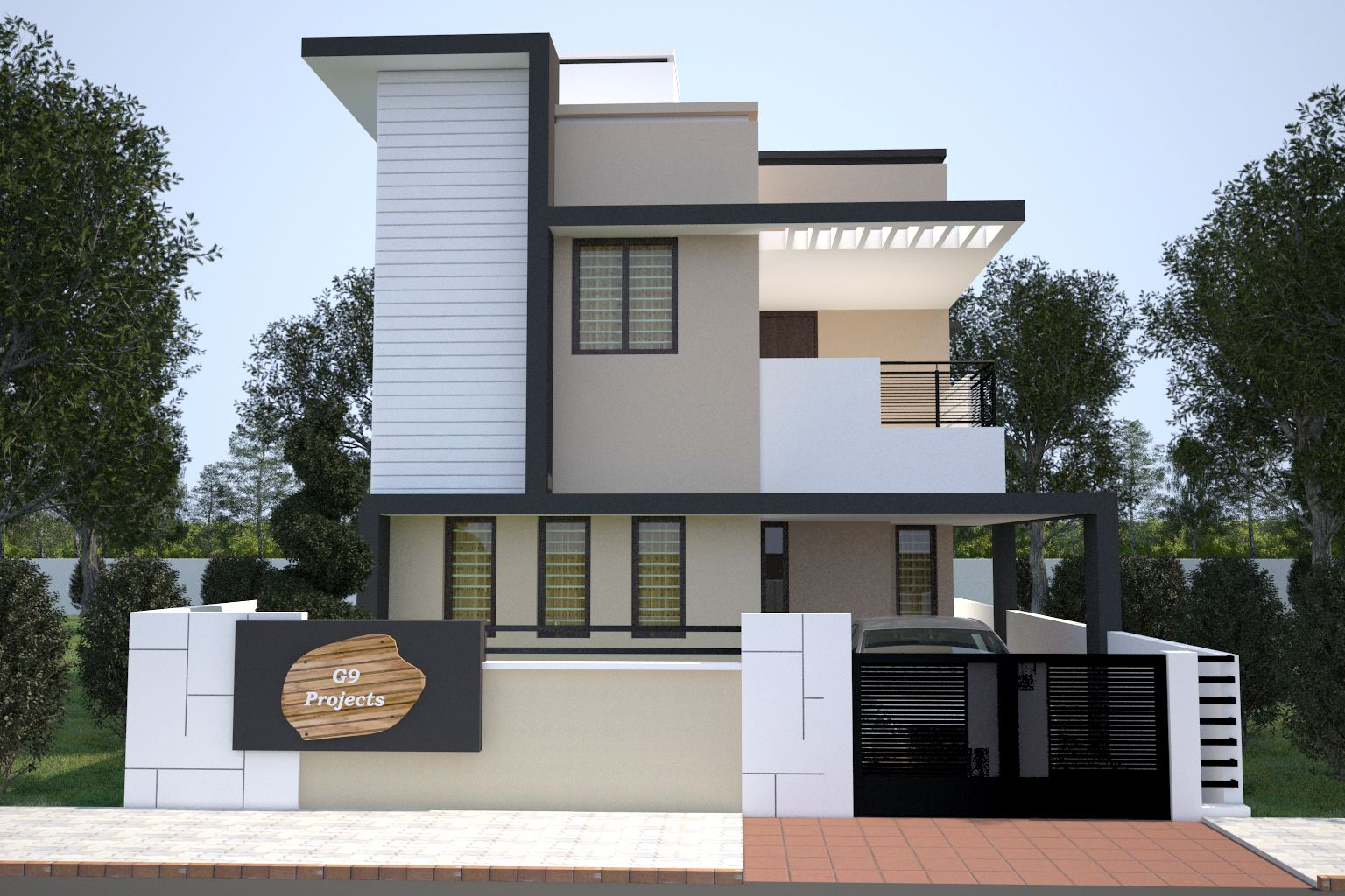 2 Story Apartment Building Exterior Design Furthermore Kerala Home Design  Plans Moreover Open Plan Kitchen Living