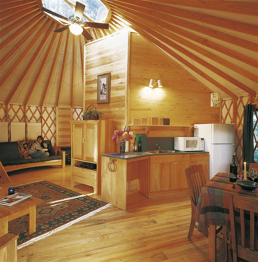 24' Yurts - Pacific Yurts (With images)   Yurt home