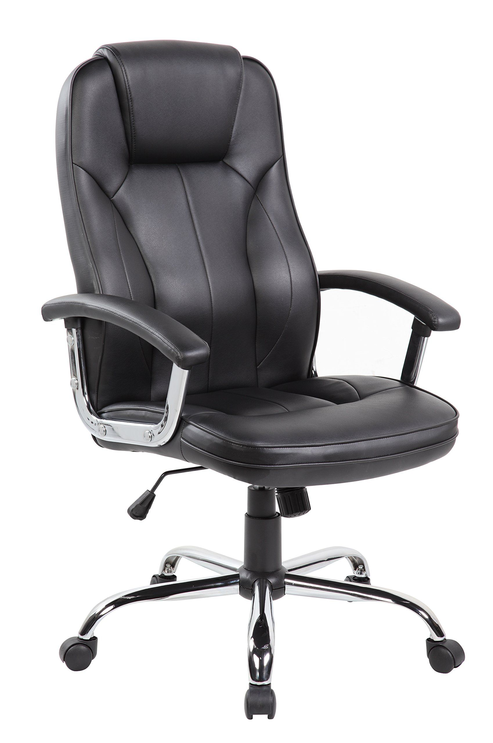 anji high back big and tall pu leather executive office desk chairs