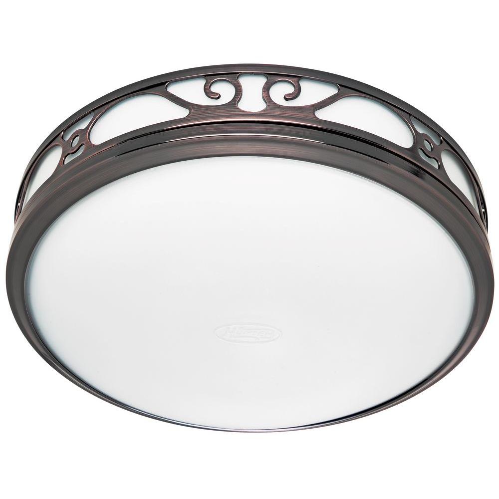 Hunter Sona Quiet Decorative Imperial Bronze 110 Cfm Bath Fan With