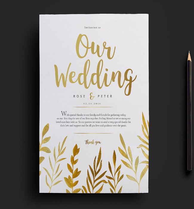 20 wedding flyer templates free download in psd format muhammed