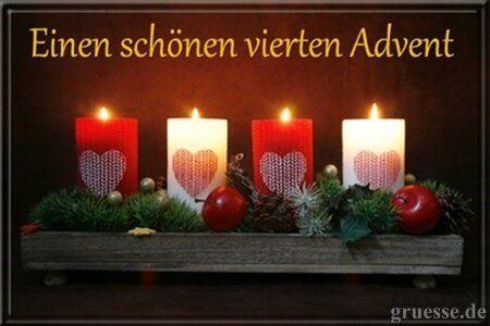 20 Wunsche Zum 4 Advent Vierter Advent Advents Grusse Advent Bilder