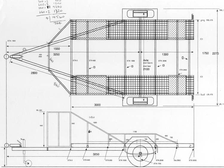 Car Trailer Drawing Jpg 750 562 Car Trailer Trailer Plans Expedition Trailer