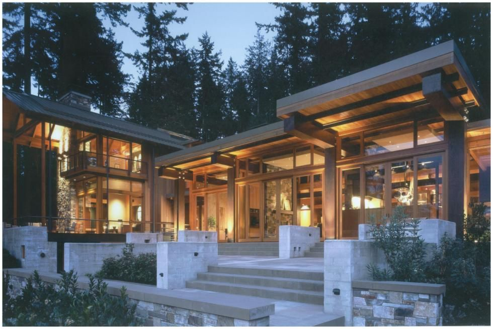 Pacific northwest home built from shipwreck lumber for Pnw home builders