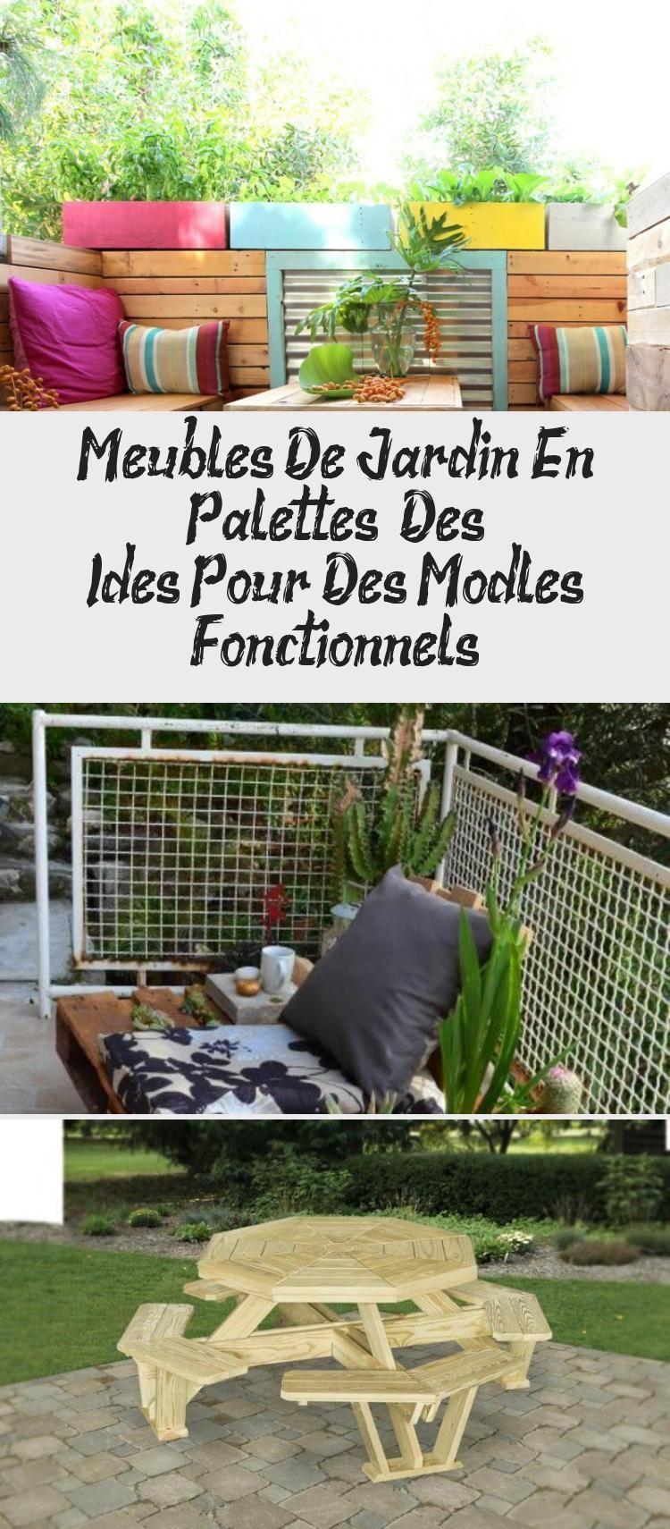 Salon De Jardin Original meubles de jardin en palettes – des idées pour des modèles