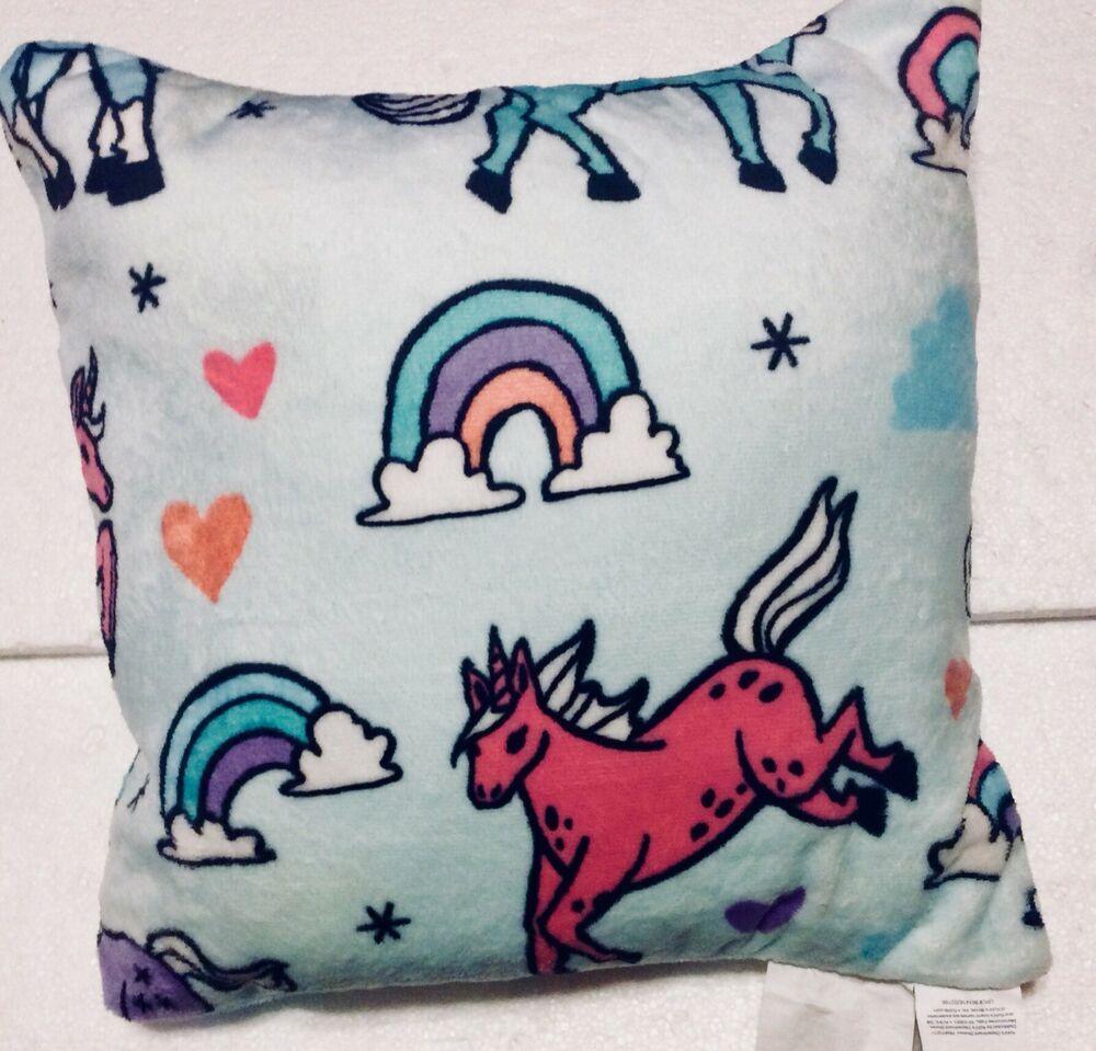 Pillows, Plush throw pillows, Throw