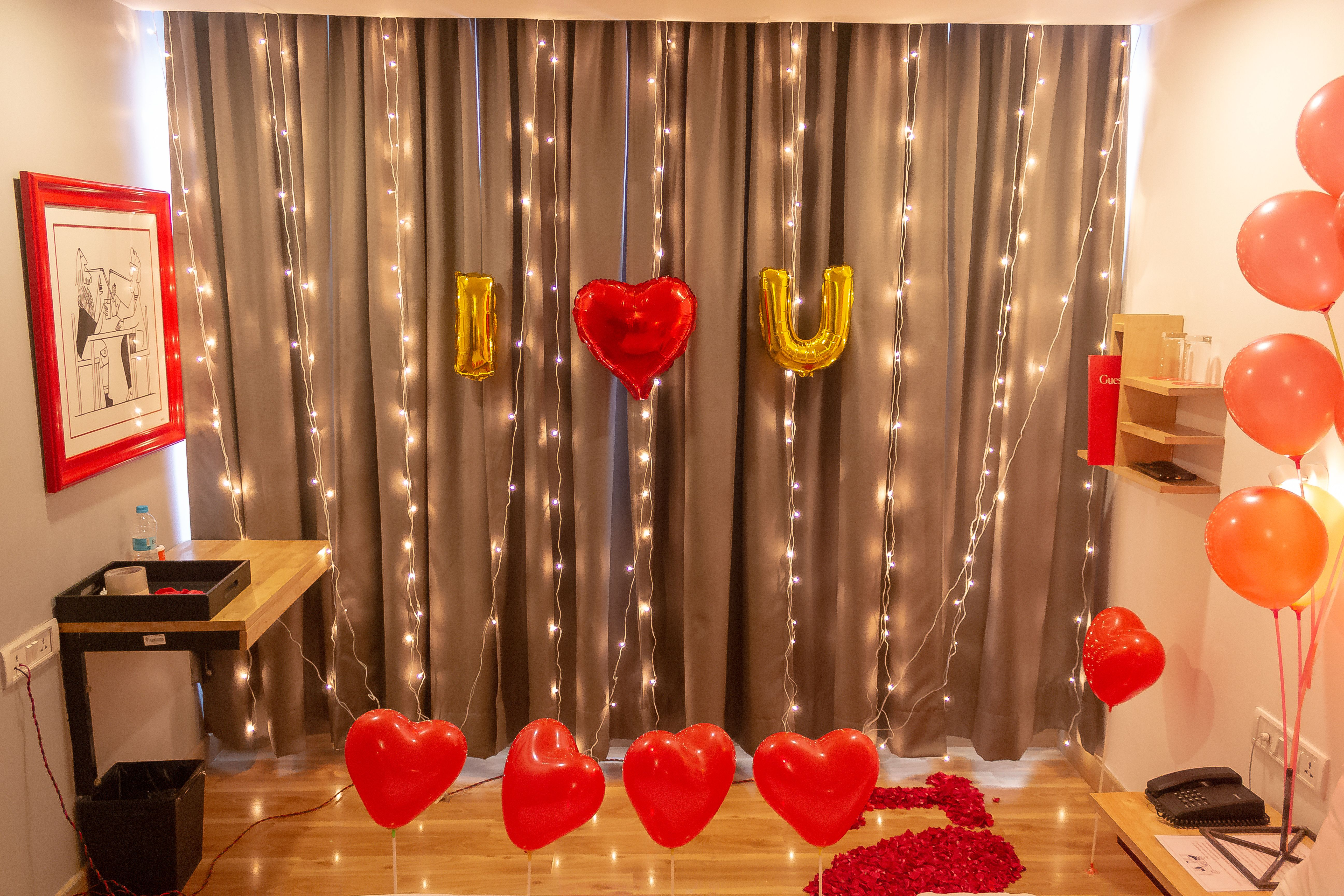 Show Your Love In 2021 Wedding Anniversary Surprises Birthday Room Decorations Birthday Room Surprise