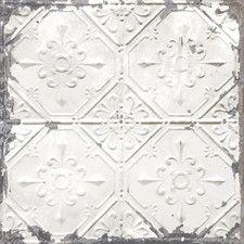 Wallpaper You Ll Love Wayfair Vintage Tin Tiles White Tin Ceiling Antique Tin Ceiling Tile