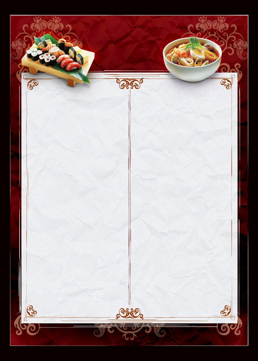 Template Menu Chinese Food By JotapehqDeviantartCom On