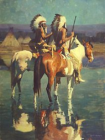 artist david mann biography | DAVID MANN Artist American Indian art prints