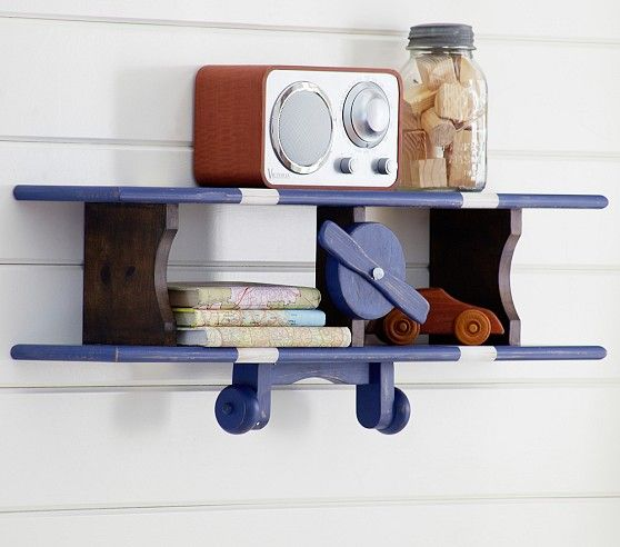 Airplane Shelf | Pottery Barn Kids