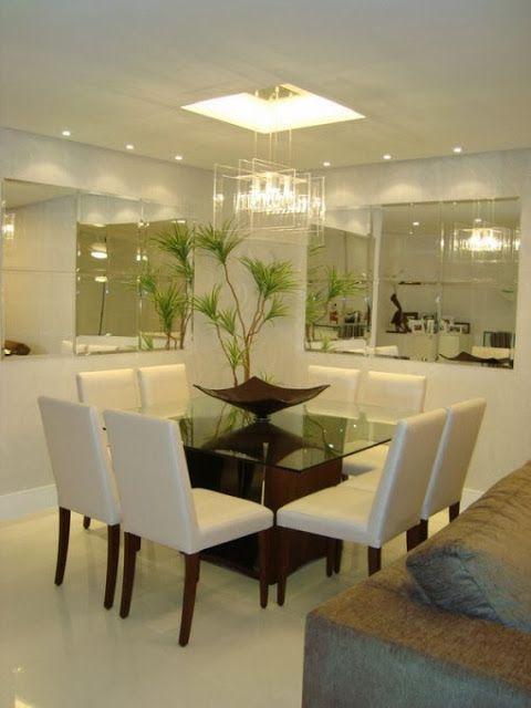 Comedor moderno peque o casa comedores de vidrio - Comedor pequeno moderno ...