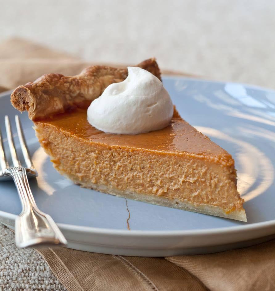 Ultimate Pumpkin Pie With Rum Whipped Cream Recipe