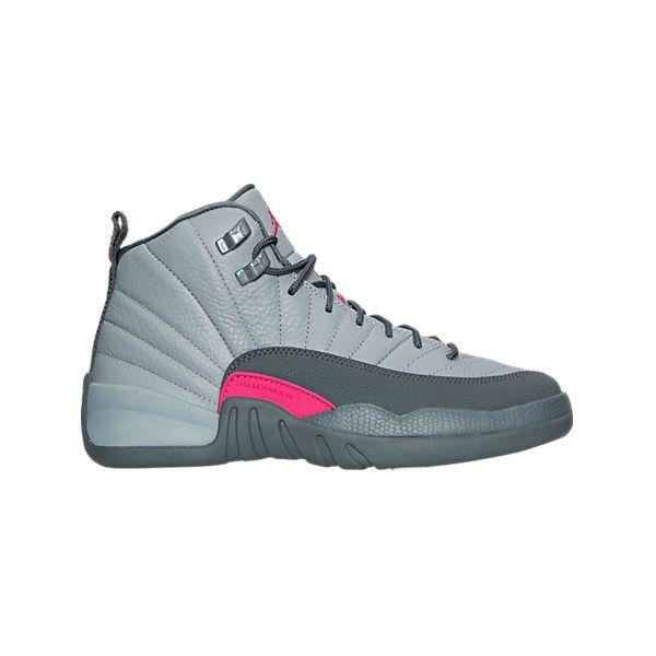cba23f5c7b4fd8 Girls  Grade School Air Jordan Retro 12 (3.5y-9.5y) Basketball Shoes ...