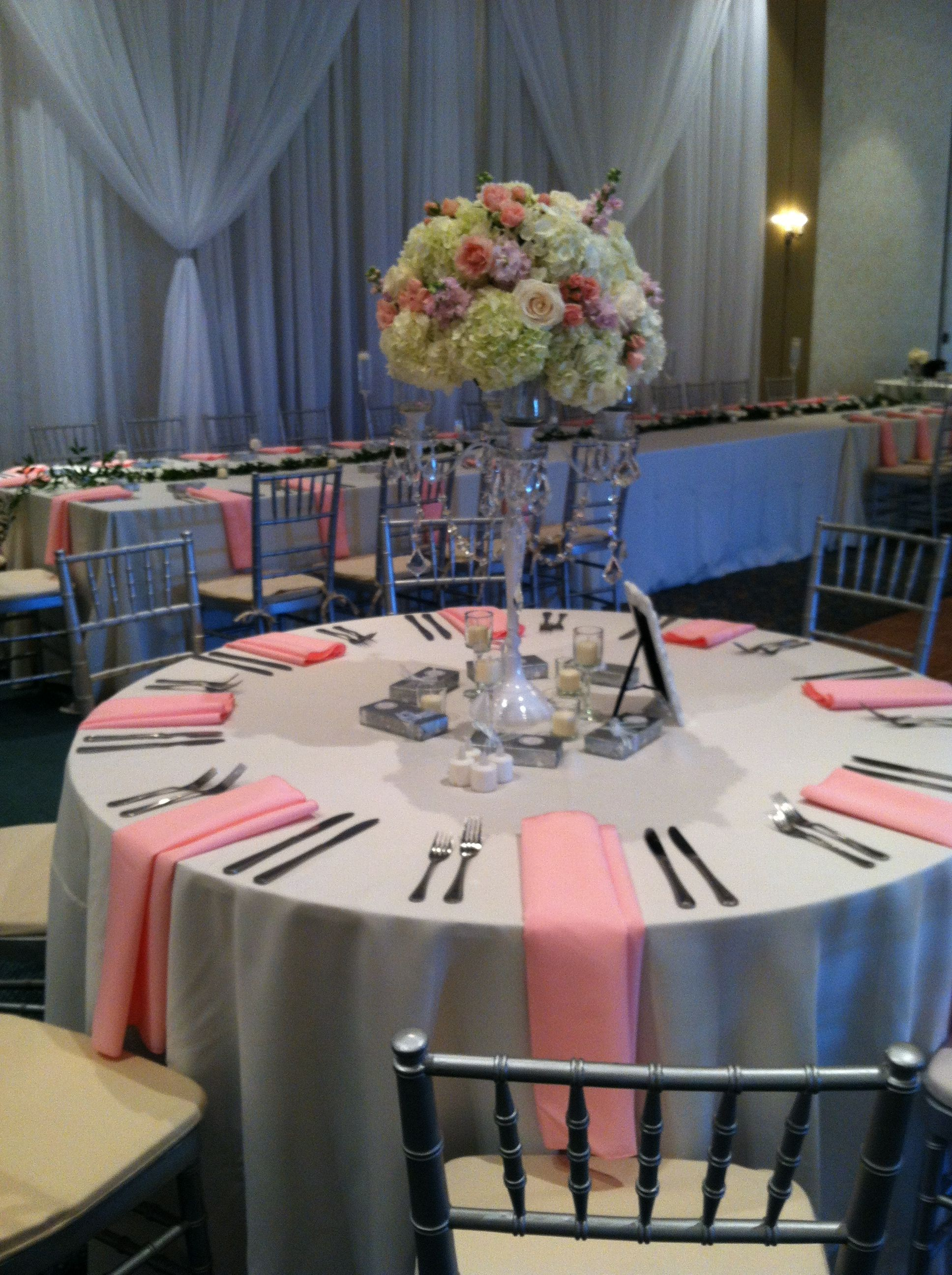 Romantic decor with Blush pinks and ivories Days Remembered by ND