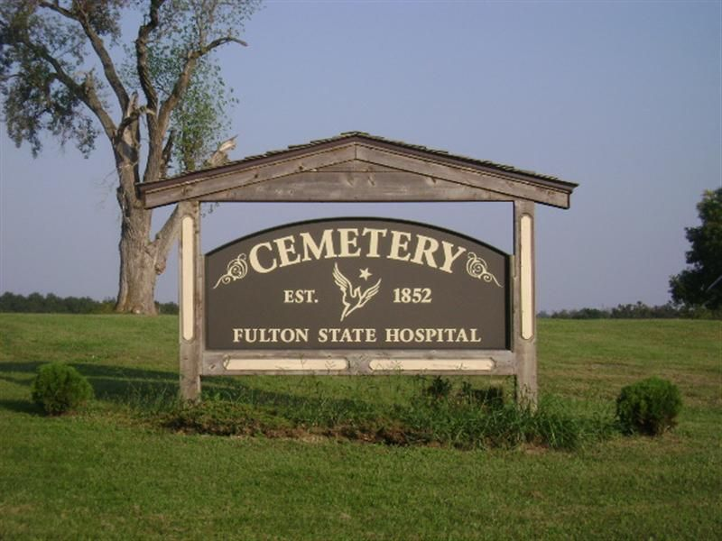 Find a grave fulton state hospital cemetery cemetery