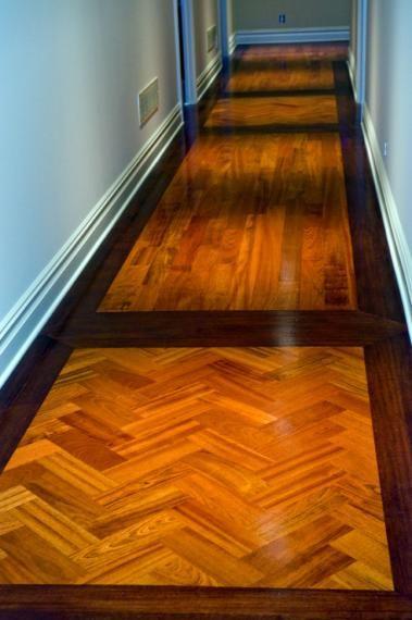 Wood Floor Inlay Design X6 Corner Inlays