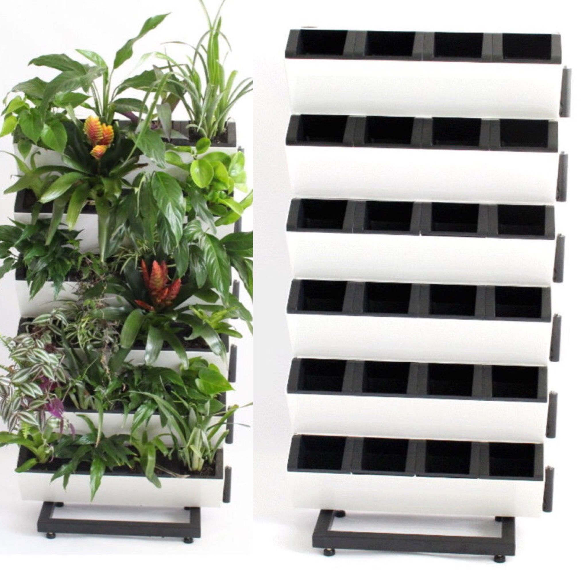 Vertical Garden  Easy Diy  Self Standing Rack Httpswww