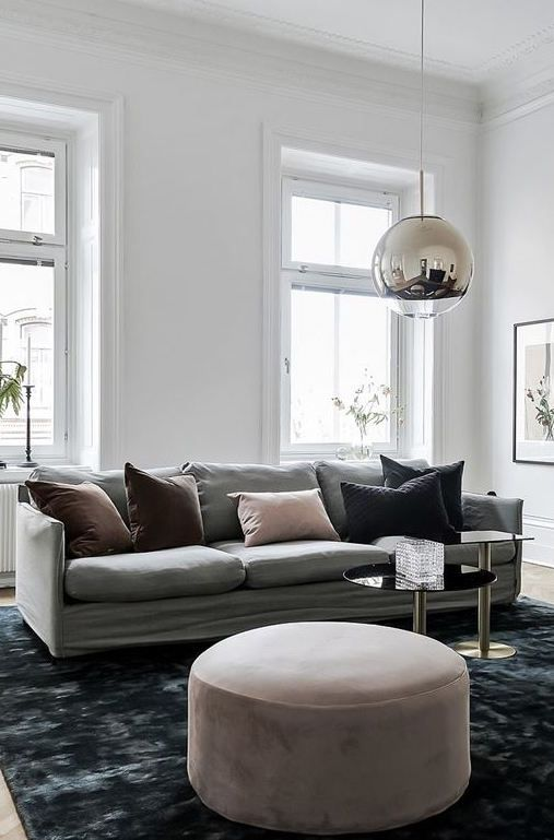 Simple and classy home | Wohnung LZ | Pinterest | Blaue Teppiche ...