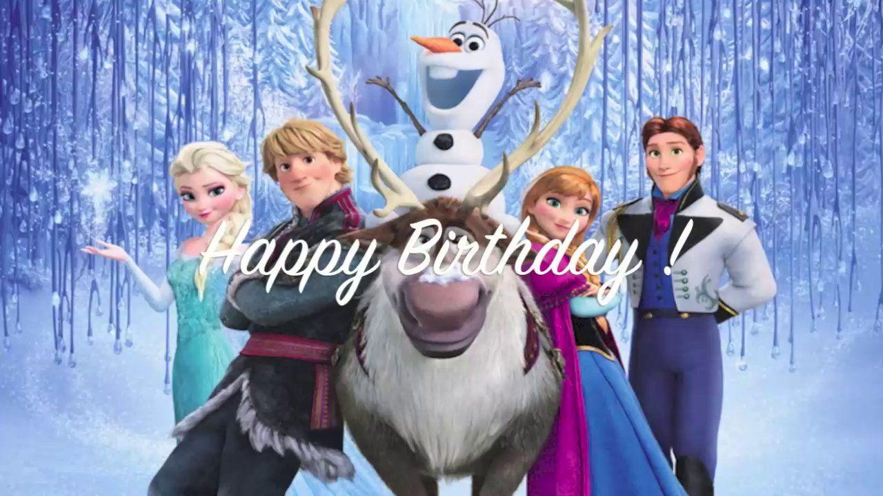 Funny Frozen Happy Birthday E Card Frozen Movie Frozen