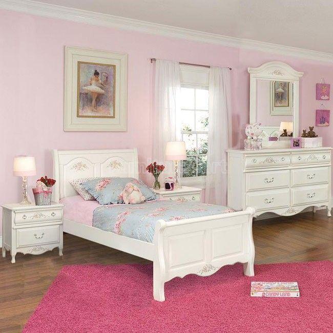 Summerset Sleigh Bedroom Set Girls Bedroom Furniture Sets Girls Bedroom Sets Girls Bedroom Furniture