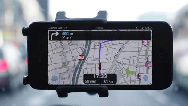 Waze, an Israeli mobile satellite navigation application