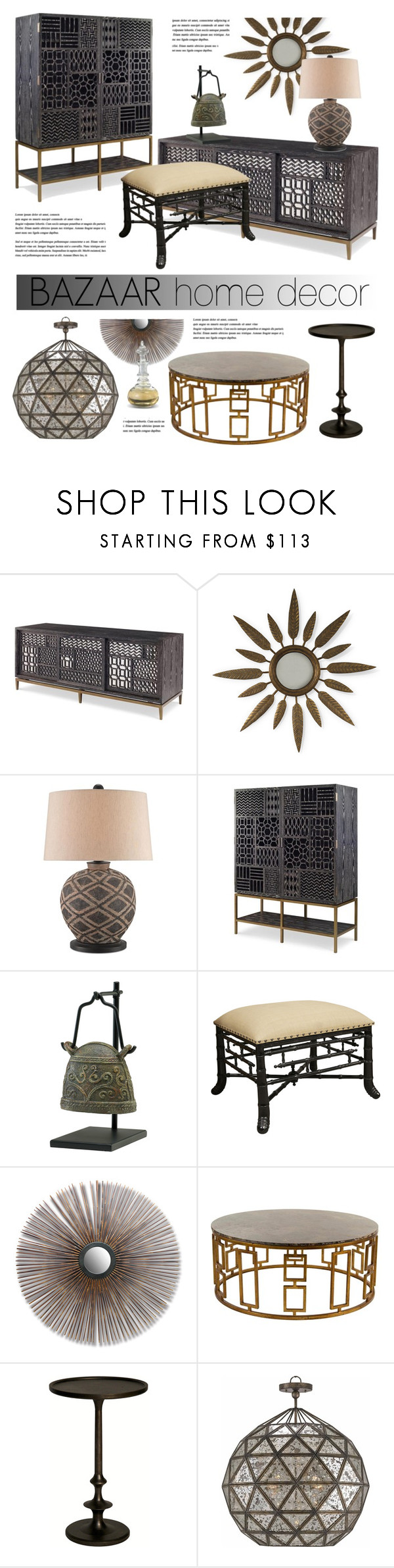 Bazaar Interior By Kathykuohome On Polyvore Featuring Interior, Interiors,  Interior Design, Home,