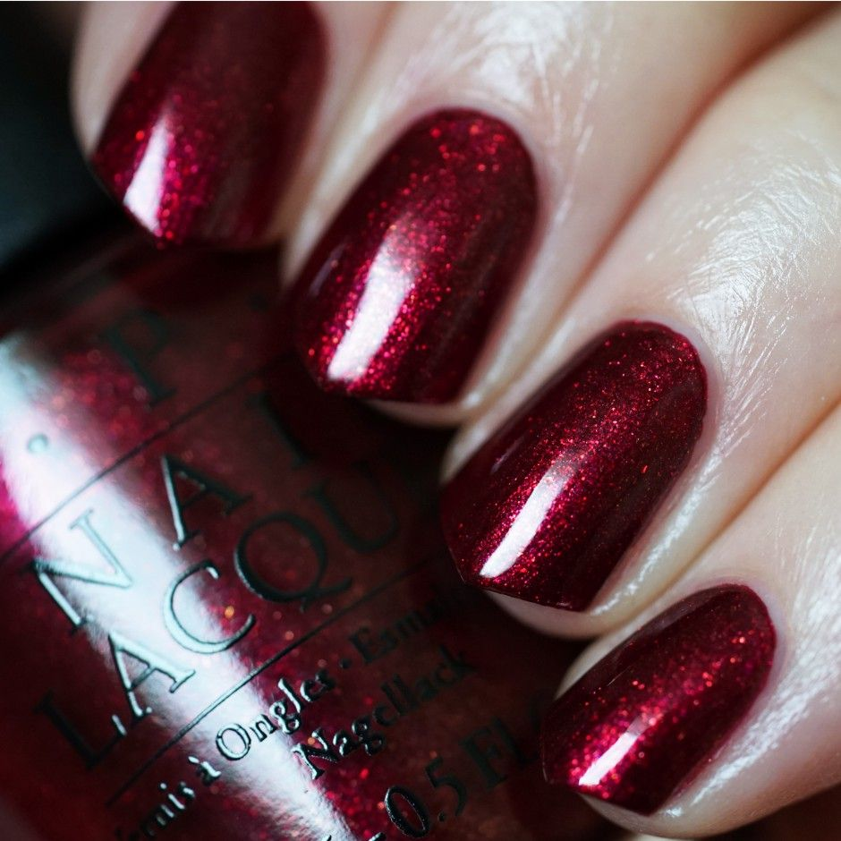 Xmas Nail Colours: OPI Starlight - Let Your Love Shine