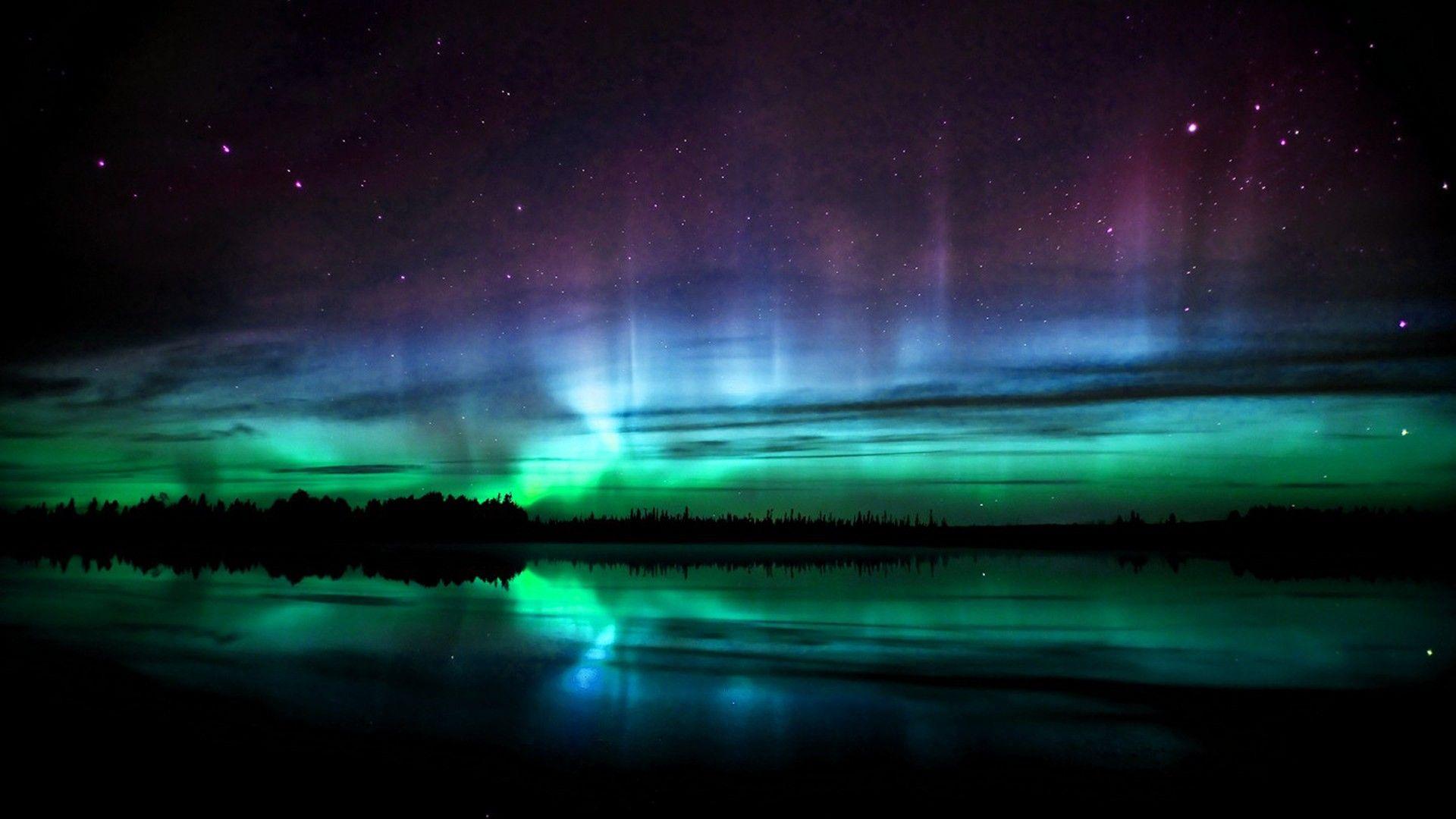 Arts Visuels Des Aurores Boréales Northern Lights