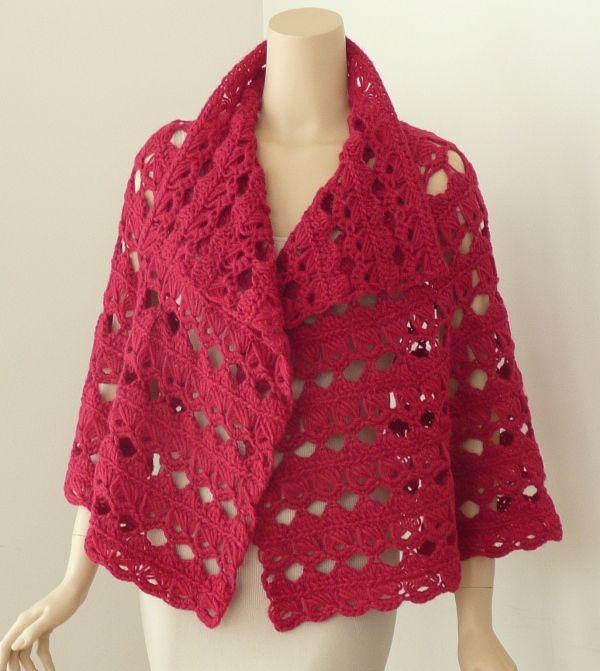 broomstick crochet | Broomstick Capelet | Doris Chan Crochet