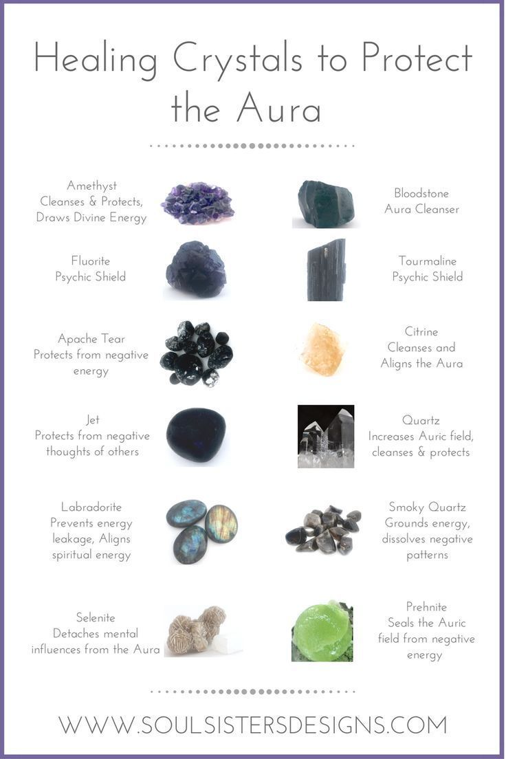 Different Healing Crystals And The Way They Protect Our Aura By Soul Sisters Designs Crystals