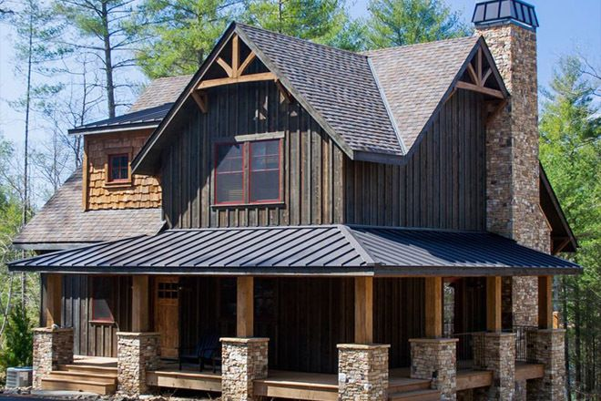 Plan 18733ck 5 Bed Mountain Cottage On A Walkout Basement Rustic House Plans Cottage House Plans Rustic House