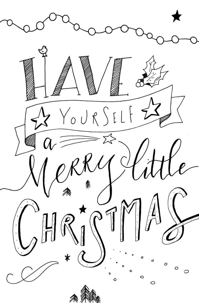merry christmas signs coloring pages | Merry Christmas | X'MAS | Christmas doodles, Christmas ...
