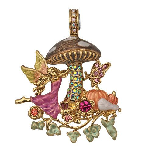 KIRKS FOLLY MAGIC MUSHROOM FAIRY NECKLACE | eBay