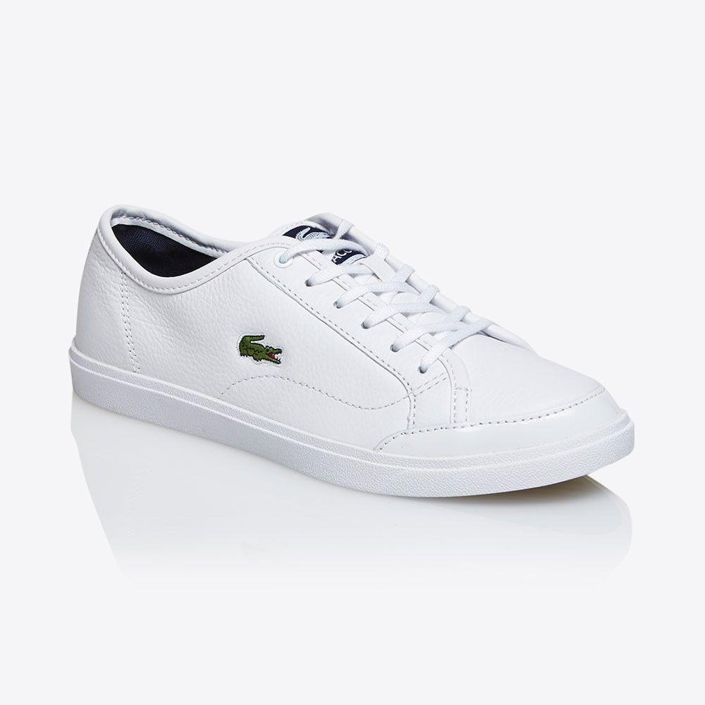 Lacoste Polidor Mil Kadin Beyaz Spor Ayakkabi Spw1031 X96 Lacoste Sneaker Spor