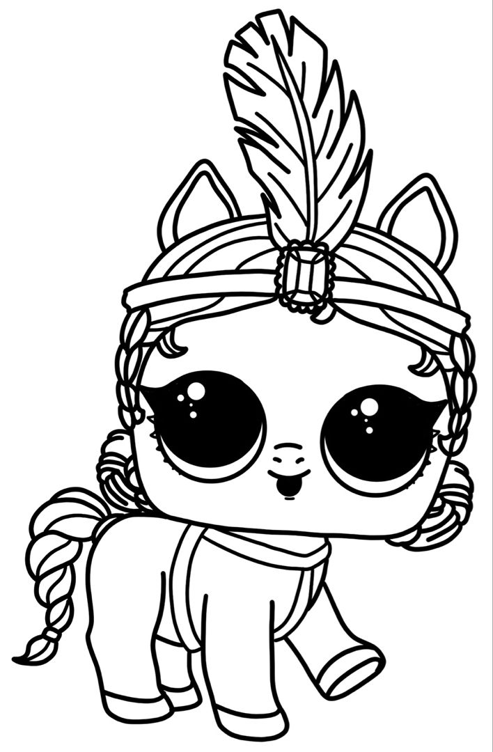 lol dolls lol coloring pages pets | coloring page blog