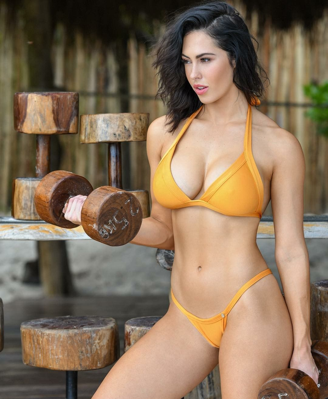 b5403f92ca137 Hope Beel at Tulum Jungle Gym | Health & Fitness in 2019 | Bikini ...