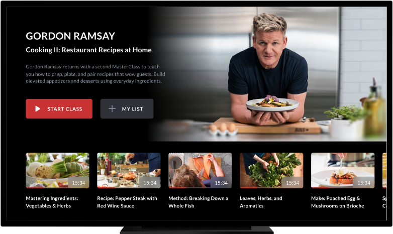 Masterclass Online Classes Master Class Gordon Ramsay Culinary Skills