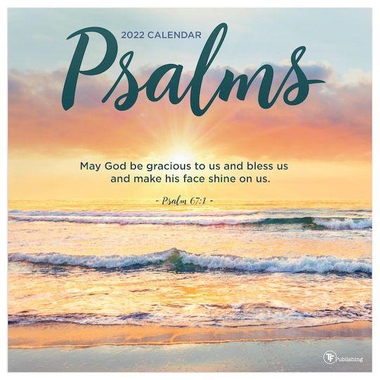 Tf Publishing 2022 Psalms Wall Calendar | Michaels®