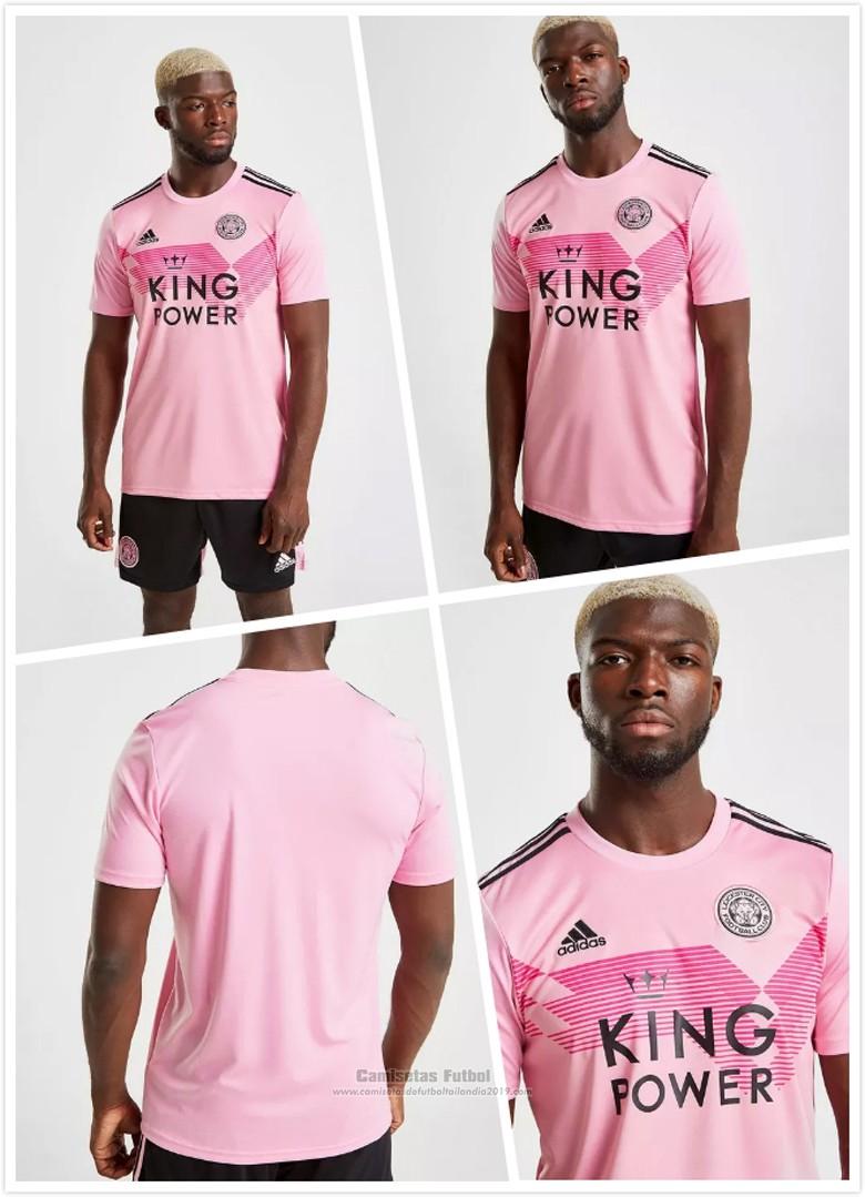 Tailandia Camiseta Leicester City 2ª 2019 2020 Rosa