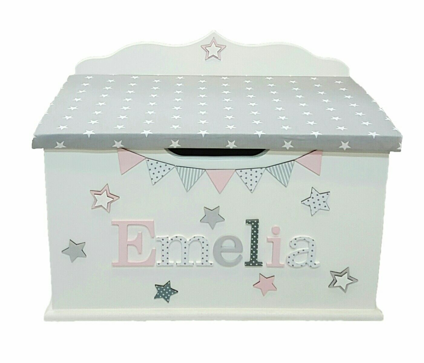 Names Of Bedroom Furniture Personalised Toy Box Children Baby Kids First Birthday Christmas