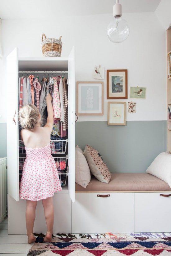 Quelle armoire choisir pour une chambre de fille ?