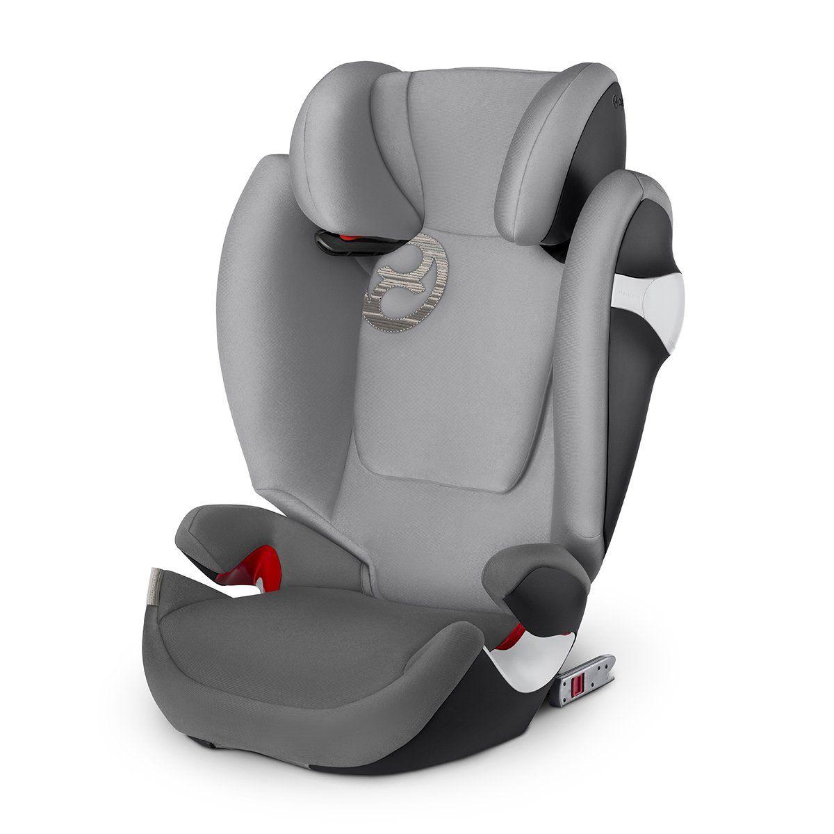 Cybex Gold Solution M Fix Autositz Gruppe 2 3 15 36 Kg Mit Isofix Kollektion 2018 Manhattan Grey In 2020 Kinder Autositz Autositz Cybex Solution