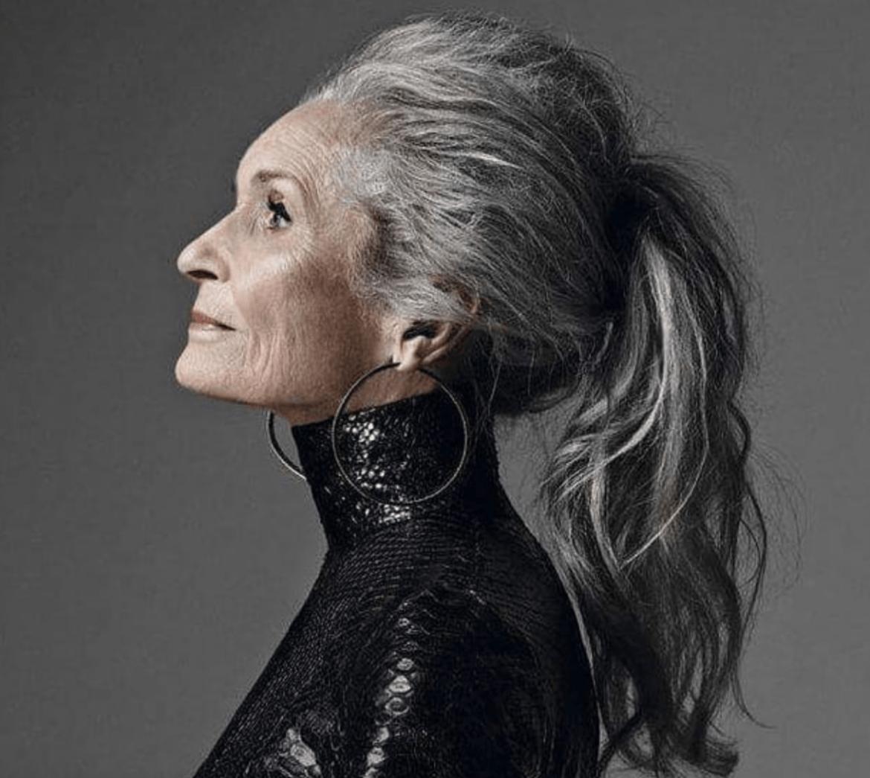 Aging Well - In The Groove  Medium hair styles, Long gray hair
